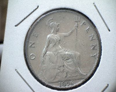 silver one penny i am looking for information on this coin can anyone