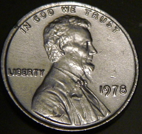 1978 Silver Penny Testing Real Any Ideas Coin