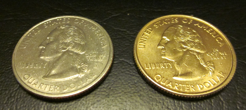 Gold Plated Quarter Coin Community Forum