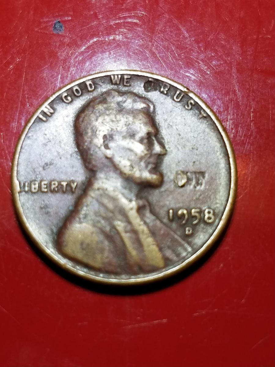 1958 red wheat penny? - Coin Community Forum