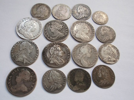 how to clean silver coins with coke