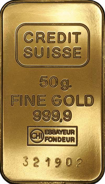 "chi essayeur fondeur The credit suisse gold bar 1 oz is imprinted with the manufacture's name, weight (1 oz), and purity (fine gold 9999) the bar includes the circled chi hallmark and ""essayeur fondeur"" which."