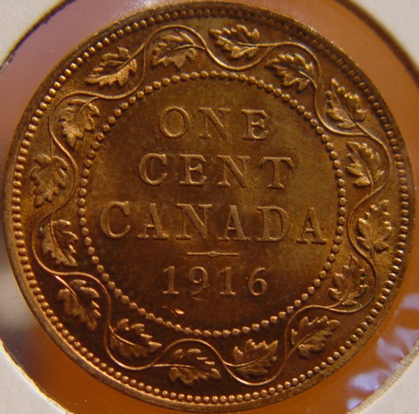 Canada 1916 And 1920 1 Cent Opinions On Grade Coin