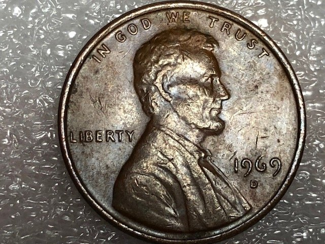 1969 D one cent missing FG  - Coin Community Forum