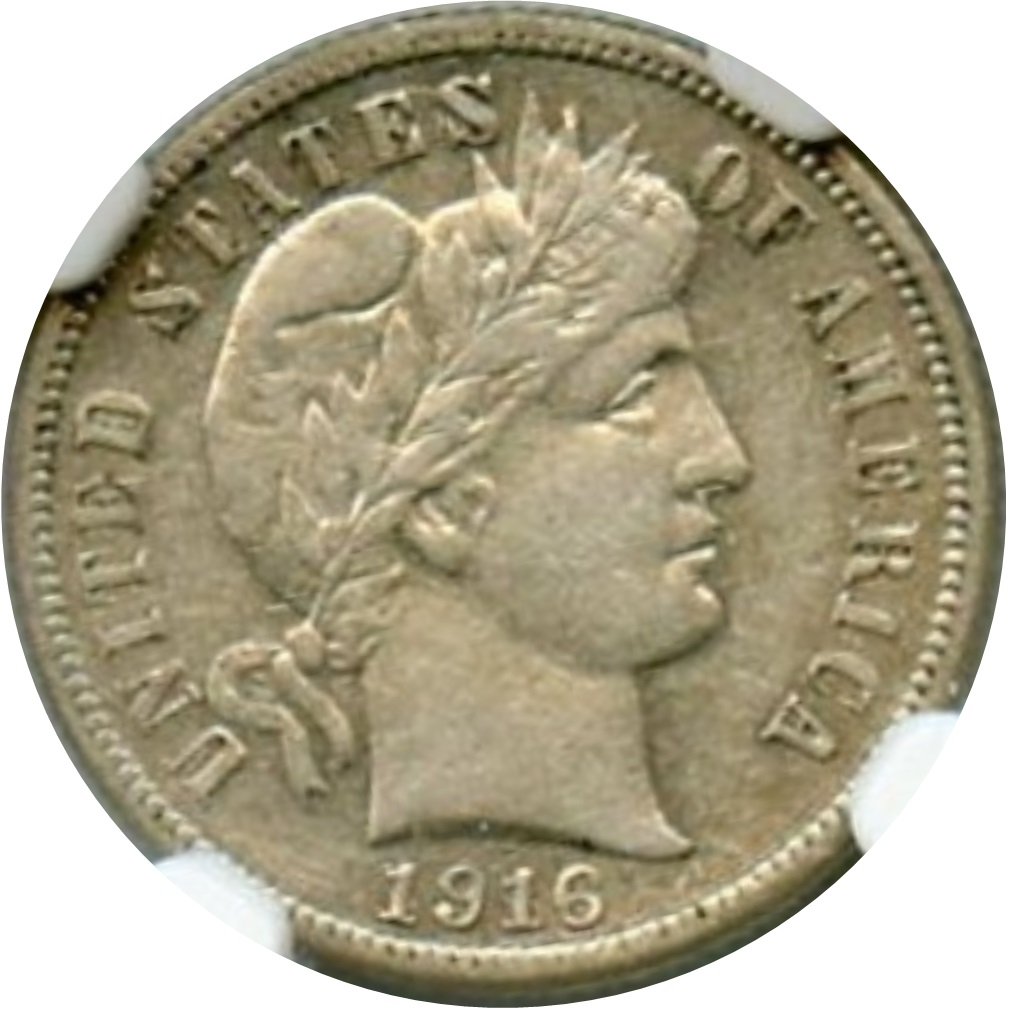 1916-S Liberty Head Barber Dime - Coin Community Forum