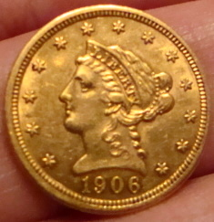1906 2 1/2 Dollar Gold Coin - Coin Community Forum