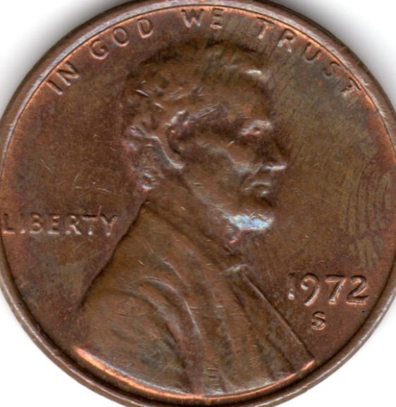 1972 s cent doubled die obverse ? - Coin Community Forum