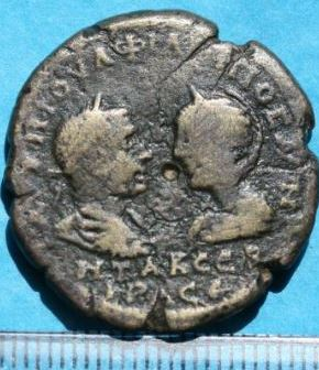 Sunny Coin Byzantium Follis Coins: Ancient Justin Ii & Queen Sophia 565-578 Ad. Byzantine (300-1400 Ad)