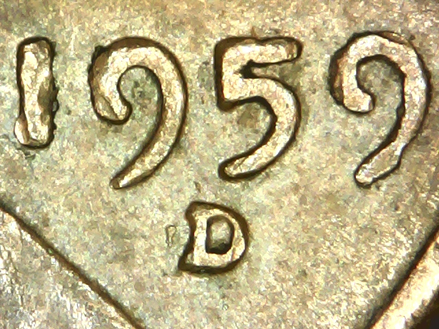 1959 D Cent Rpm Top 100 Found Today Coin Community Forum