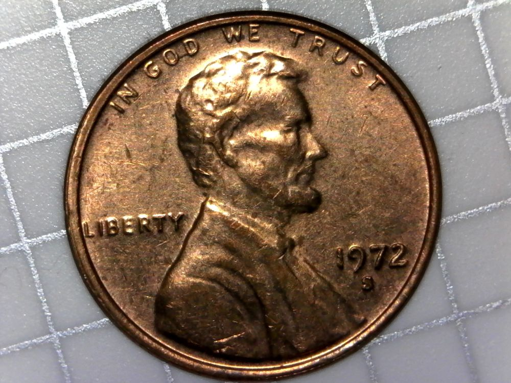 1972 s Lincoln memorial cent poor mans double die? also 199
