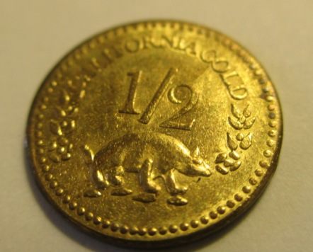 1853 California Gold 1/2 Dollar But What? - Coin Community ...