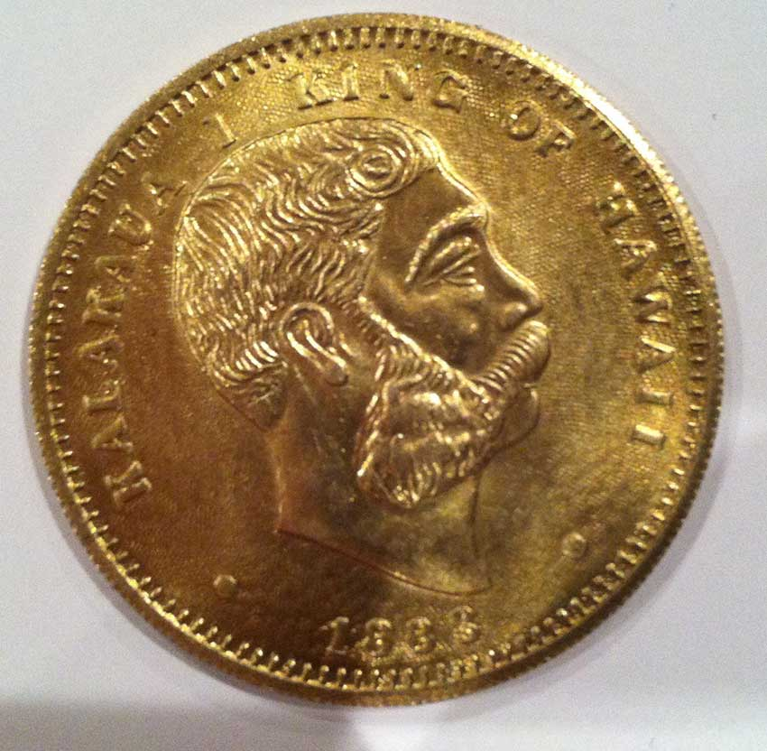 Hawaiian King Kalakaua I 1883 1 Dollar Coin Community