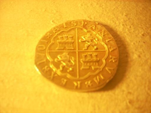 foto de 1701 Gold Coin? | Replica/fantasy Spanish 8 Escudos - Coin ...