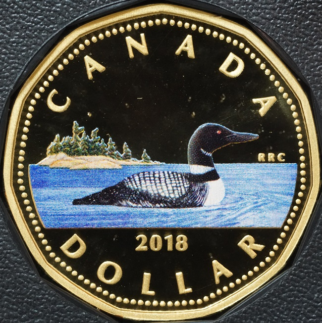No Logo Loon $1 from a new roll 2006 BU RCM