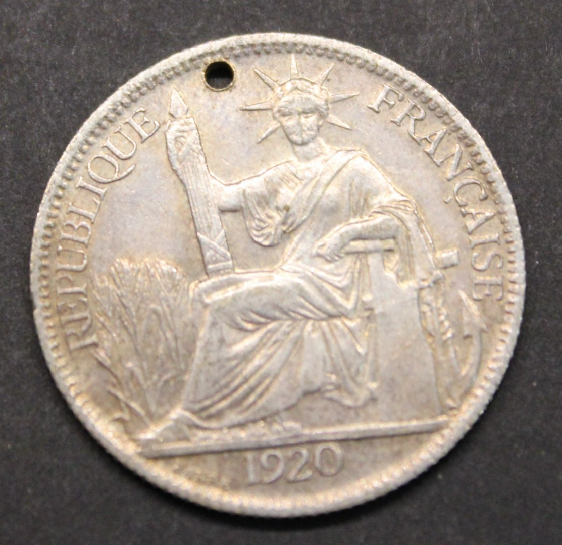 Help With 1920 French Indochina 20 Cent Coin Community Forum