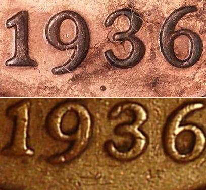 1936 Dot Penny Found!