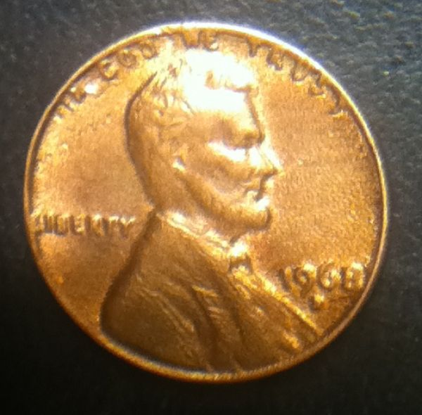 What is wrong with my 1968-D Lincoln penny? - Coin Community
