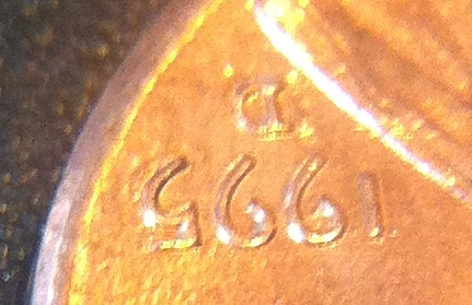 1995 d lincoln penny error on date coin community forum of any value publicscrutiny Images