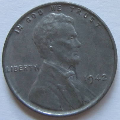 1942 Steel Lincoln Penny Never Before Seen What Am I Sitting On
