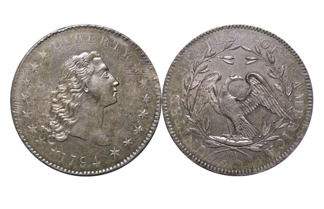 Аспущенные волосы 1794 года.
