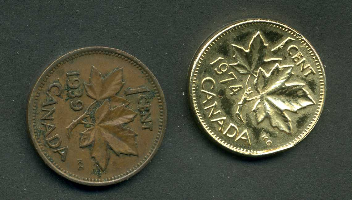 1974 Canadian Error Penny? - Coin Community Forum