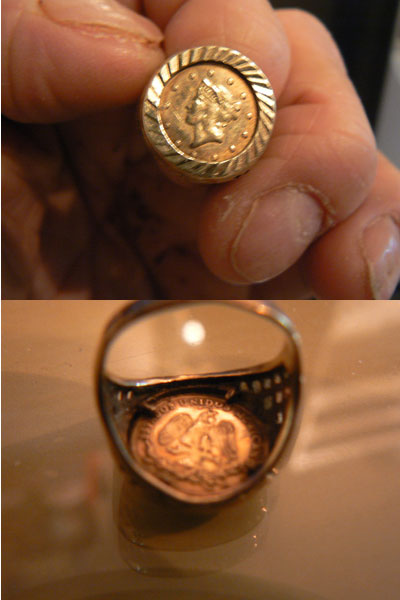 Mexican Coin In Gold Ring Coin Community Forum