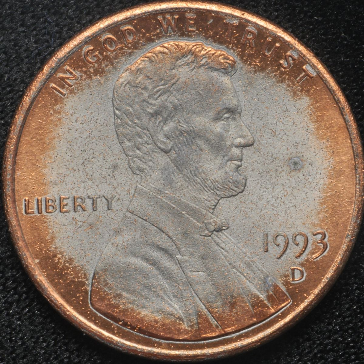 1993 D Lincoln Cent Plating Issues - Coin Community Forum