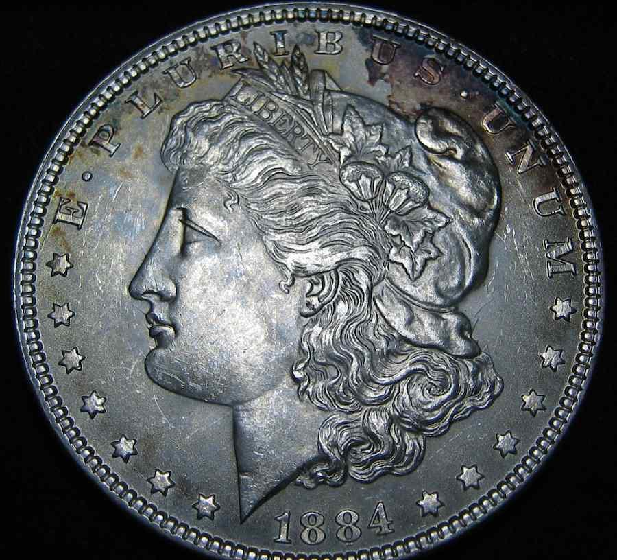 Curious coin