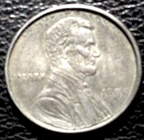 1999 Error Penny Wide Strike Unplated - Coin Community Forum