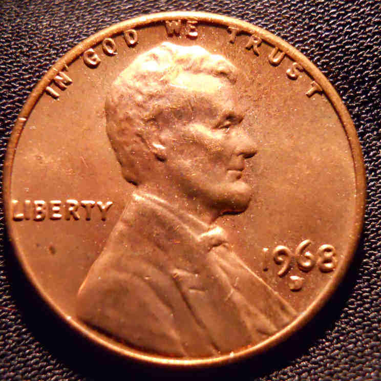 1968 Lincoln Penny Value – Name