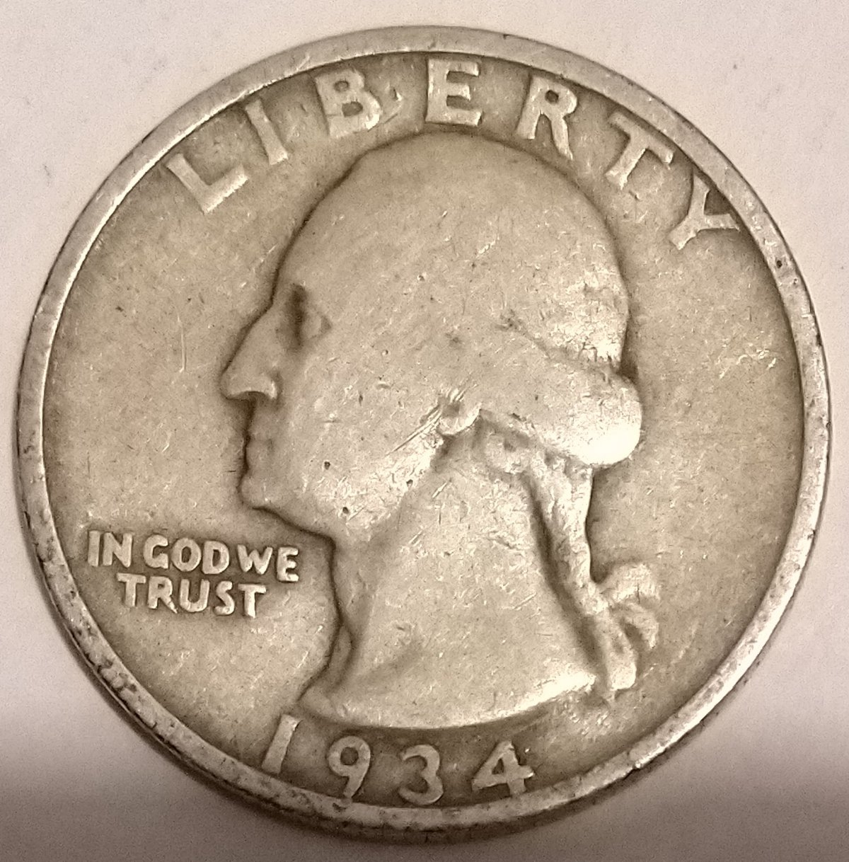 Is this 1934 Quarter a Doubled Die Obverse / DDO ? - Coin Community