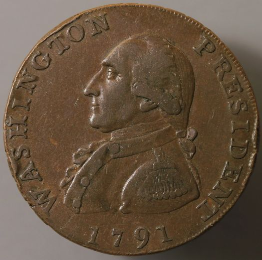 1791 George Washington Cent Coin Community Forum