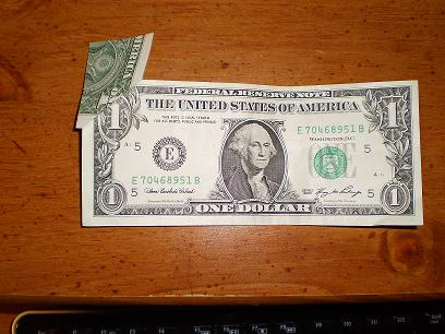 misprinted dollar bill real or fake any value coin