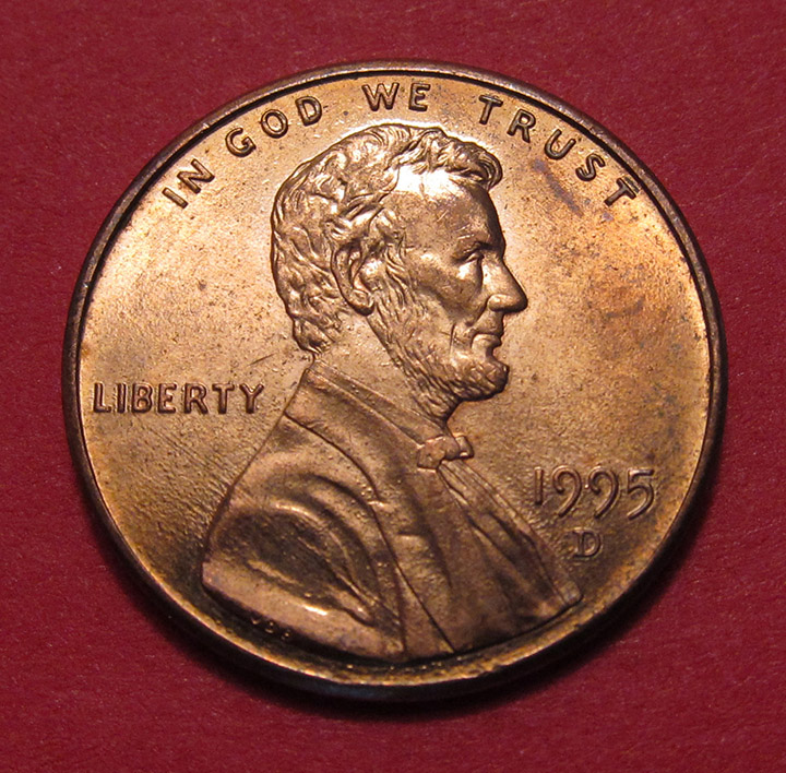 1995-D Lincoln Memorial Cent / LMC looks like Doubled Die