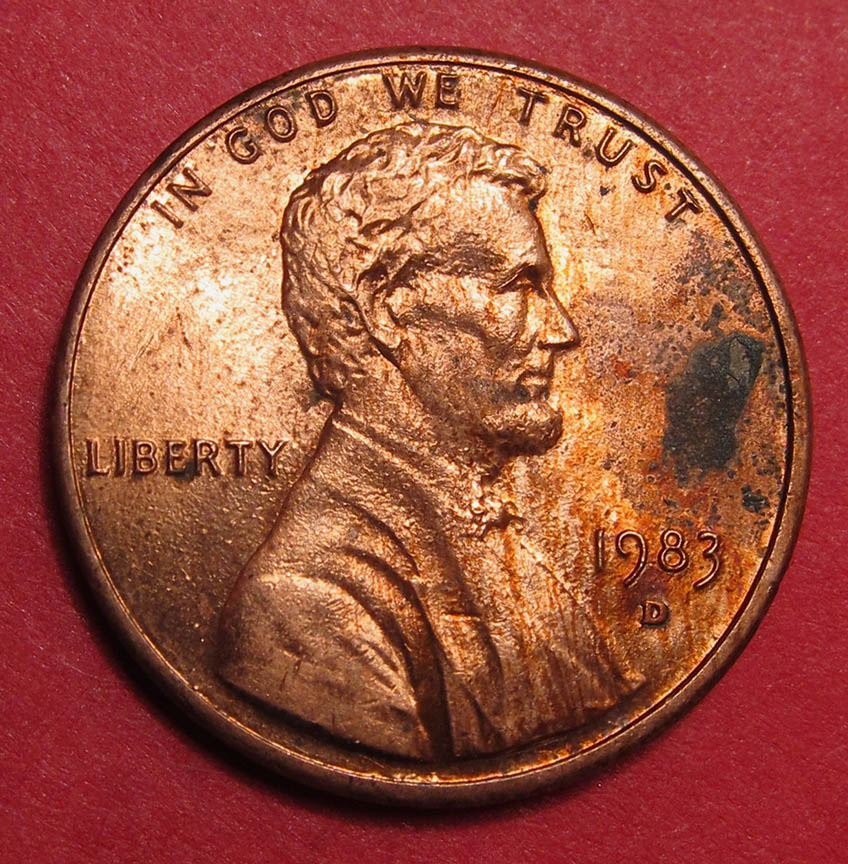 1983 D Lincoln Memorial Cent