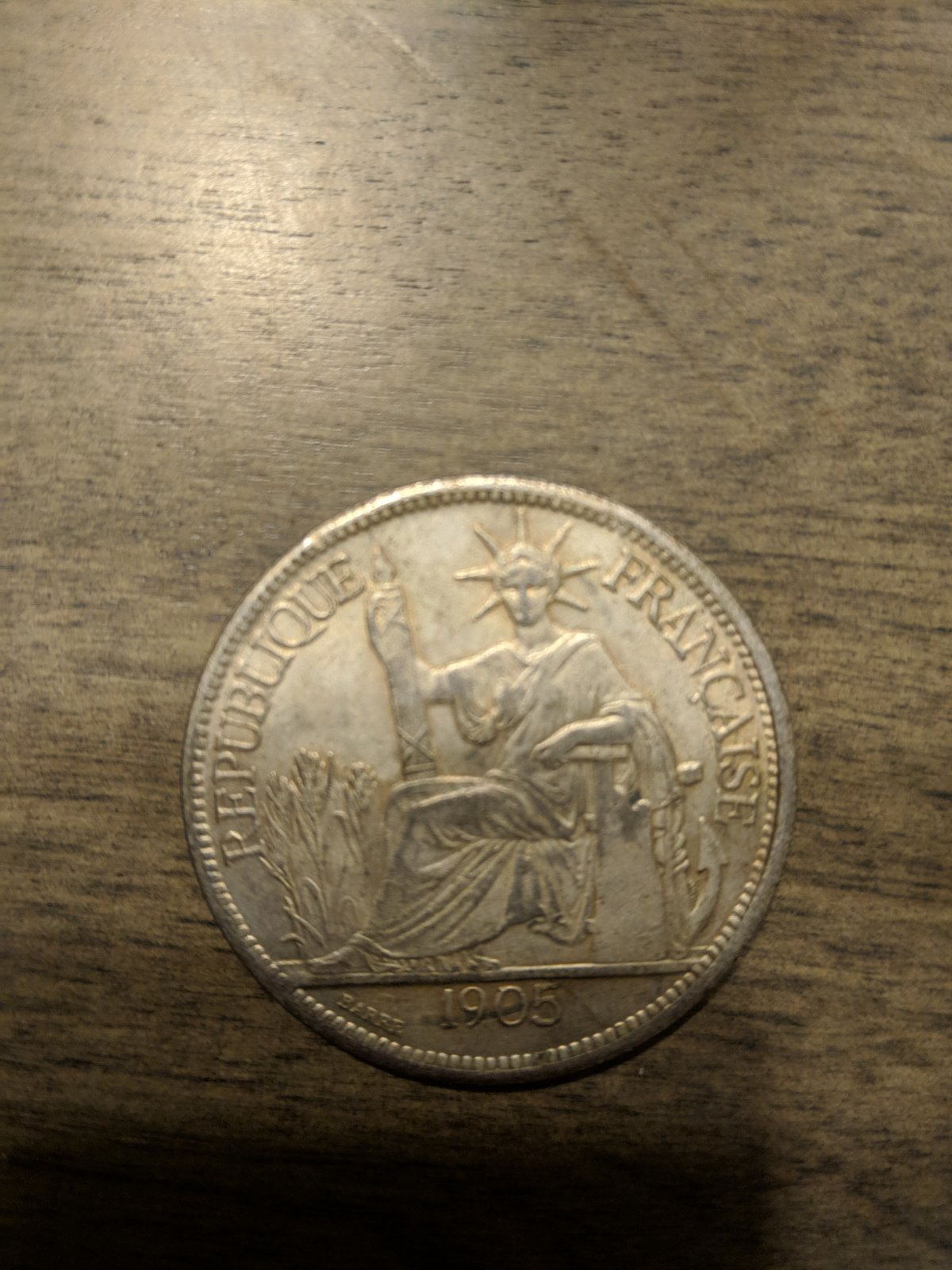 New member with some questions - French coin from 1905 and