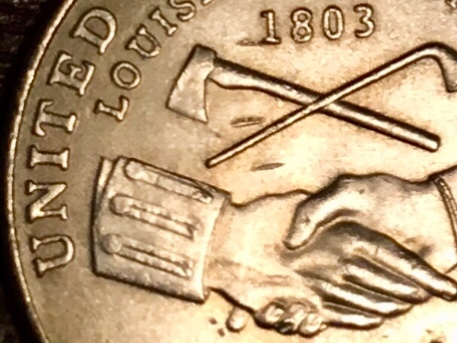 2004 P Jefferson Nickel Errors — Doubled Die Obverse / DDO , Doubled