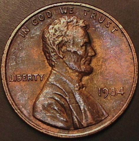 1984 Lincoln Cent Double Ear - Coin Community Forum