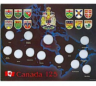 Canadian Province Quarters US State Quarters Coin Community Forum - Us state quarter map holder