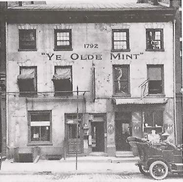 1st Philadelphia Mint Building