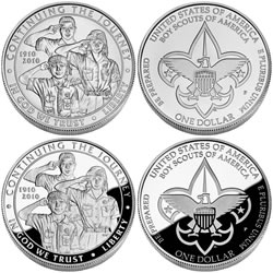 Boy Scouts of America Centennial Commemorative
