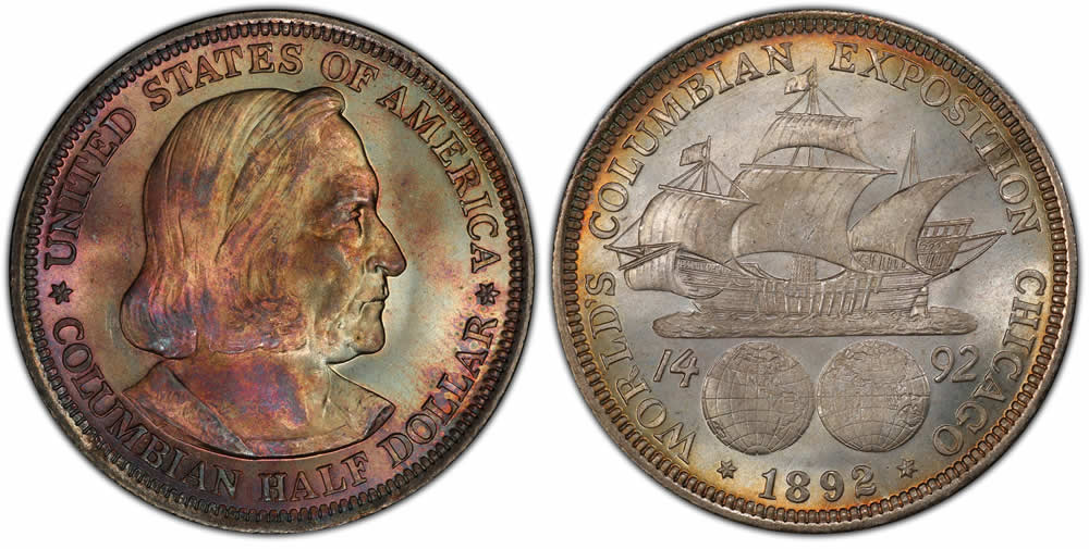 Columbian Exposition Half Dollar Commemorative Columbian Exposition Half Dollar Commemorative