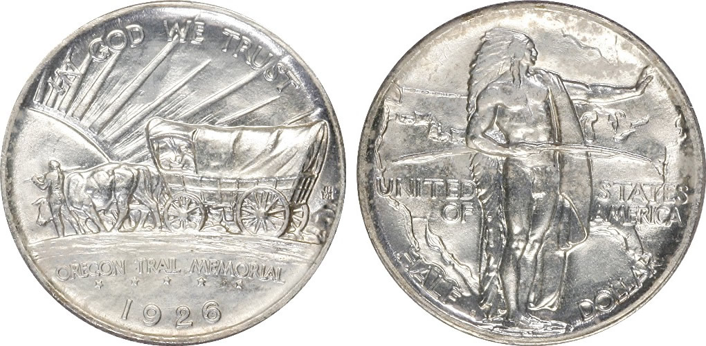 Oregon Trail Memorial Half Dollar Commemorative