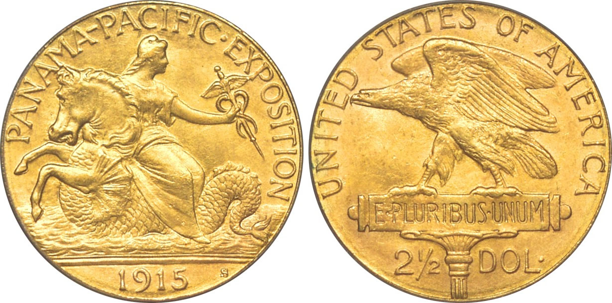 Panama-Pacific International Exposition Quarter Eagle Commemorative