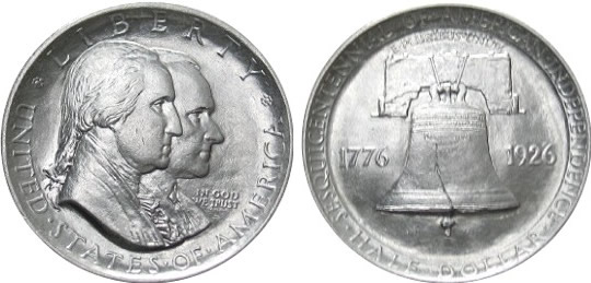 Sesquicentennial of American Independence Half Dollar Commemorative