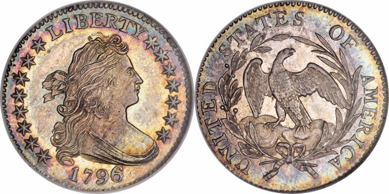 Draped Bust Heraldic Eagle Dimes 1796 Draped Bust Dime