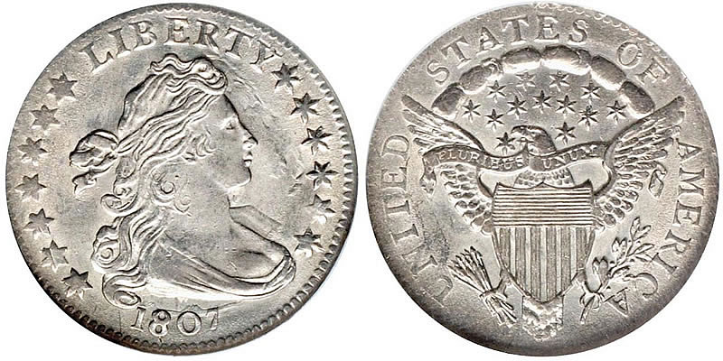 1807 Draped Bust Dime