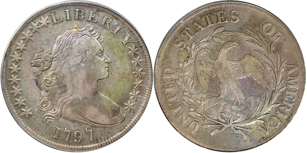 1797 Draped Bust Dollar