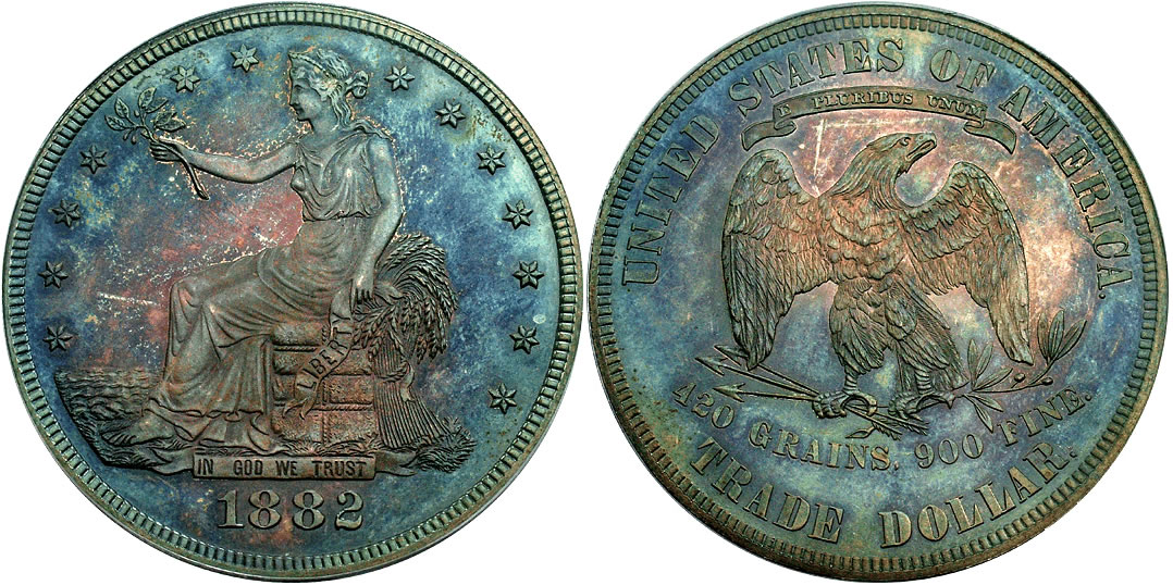 1882 Trade Dollar Proof - PCGS PR-64