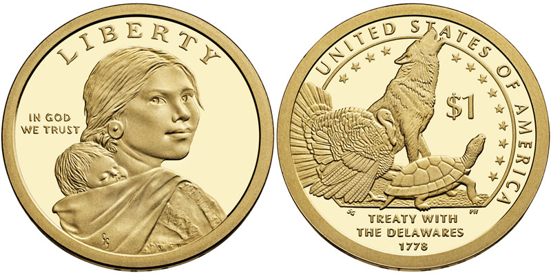 Sacagawea - Native American Dollar